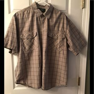Men's shirt, short sleeve